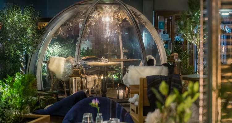 Brighton Christmas Pop-Up Igloo | Coppa Club Brighton | DesignMyNight
