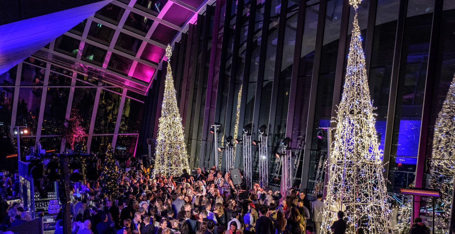 Sky Garden's Great Gatsby New Year's Eve Party