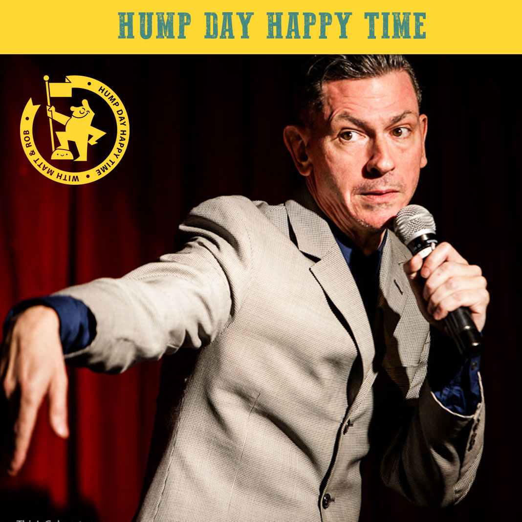 Hump Day Happy Time: Stand up comedy WITH JANINE HAROUNI and JOZ NORRIS