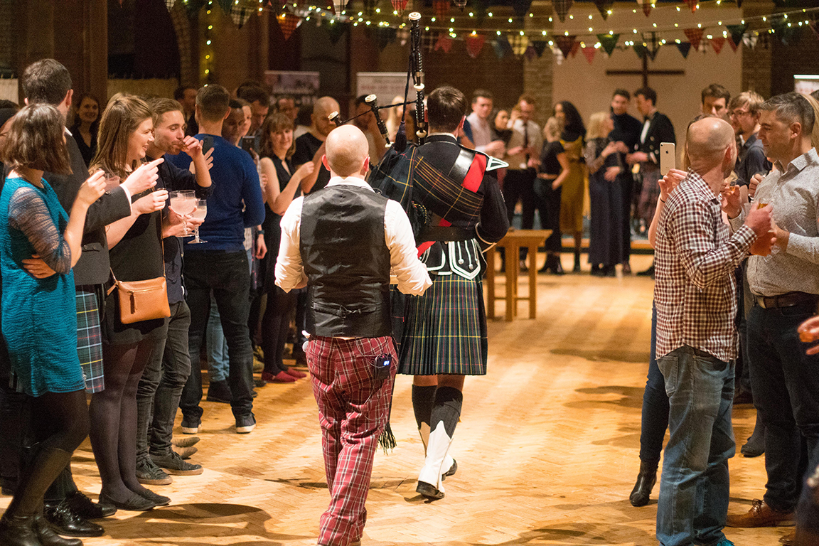 Burns Night Ceilidh and Supper at St Thomas'