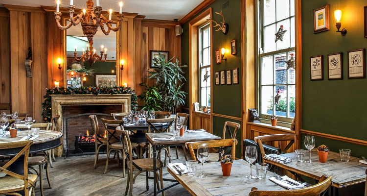 London Pubs With Fireplaces