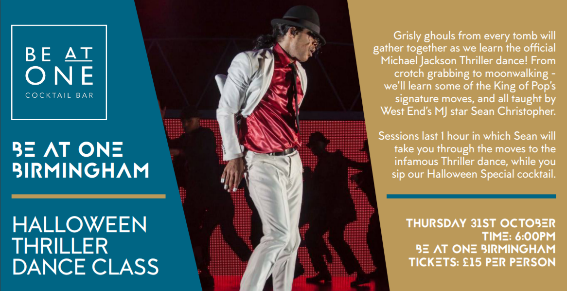Be at One Thriller Masterclass