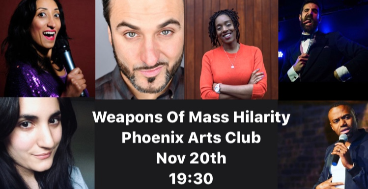 Weapons of Mass Hilarity Charity Comedy Night