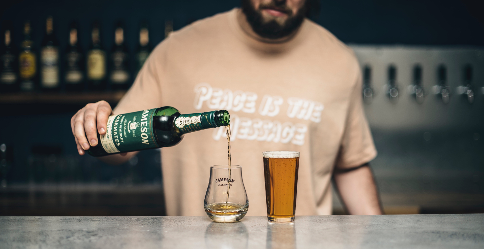 Jameson & Fourpure Caskmates Whiskey & Beer Masterclass