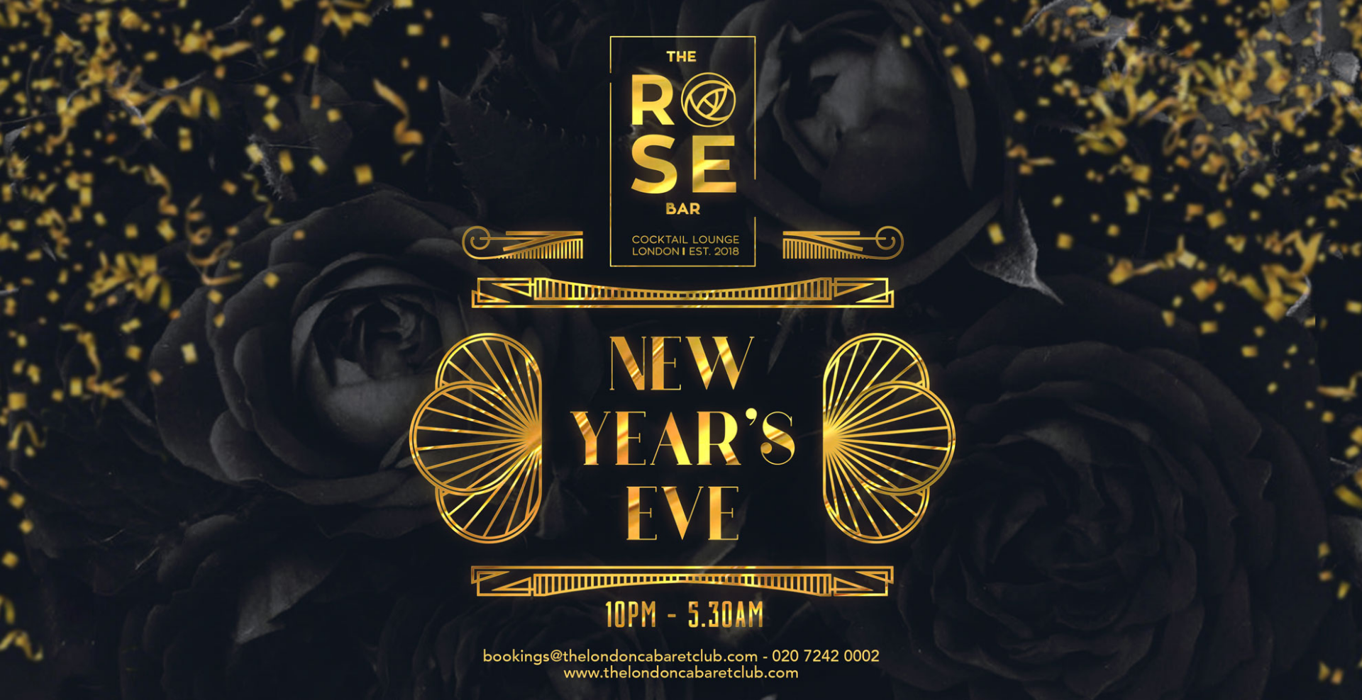 New Years Eve at The Rose Bar