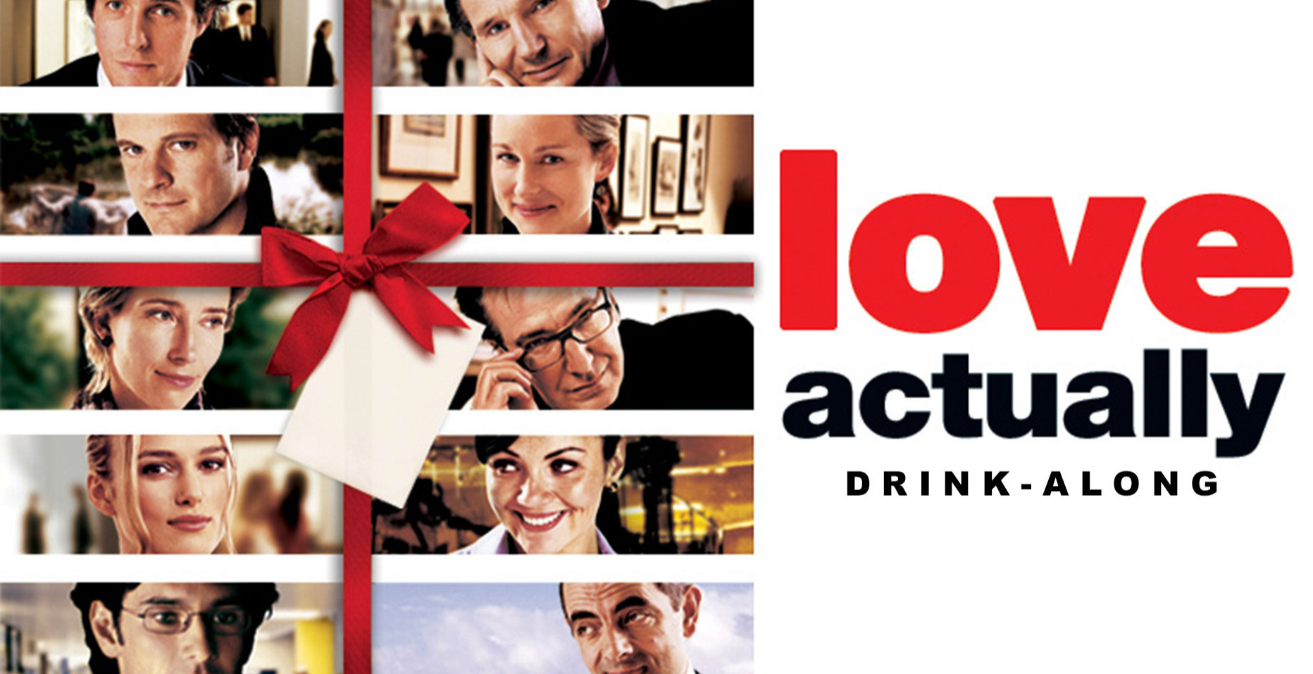 Love Actually Drink-Along Movie Nights