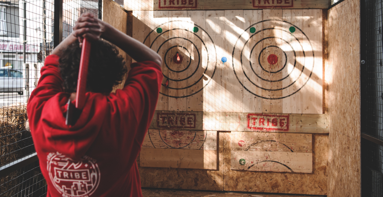 TRIBE Axe Throwing Tournament AXEperience