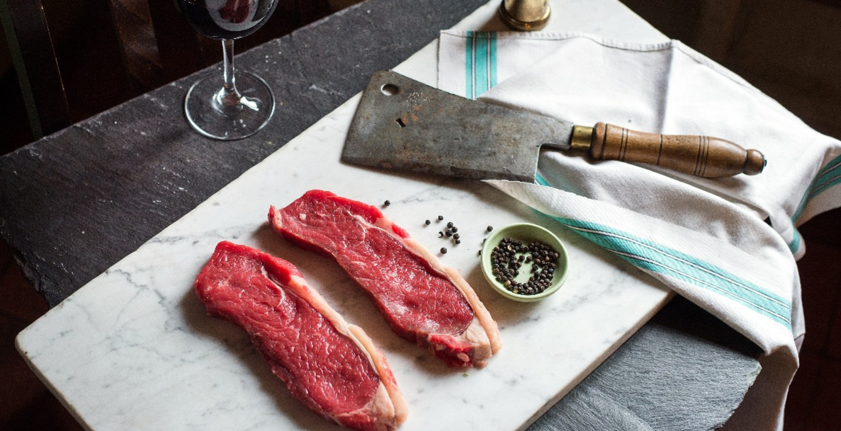 Steak Butchery and Wine Tasting Masterclass