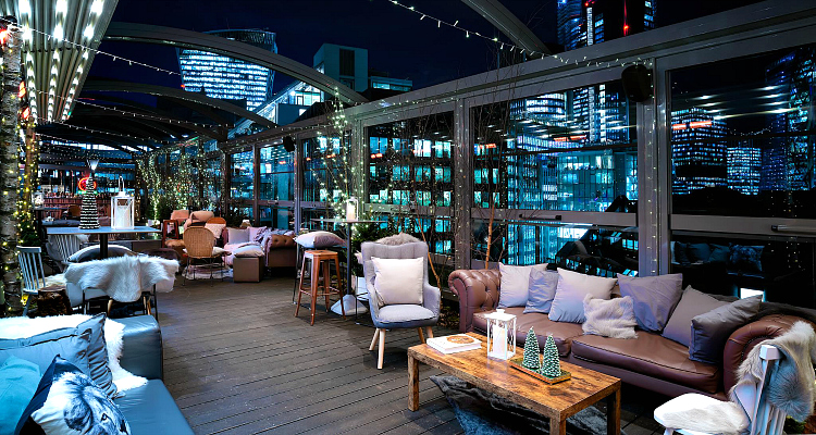 Winter Rooftop Bars In London