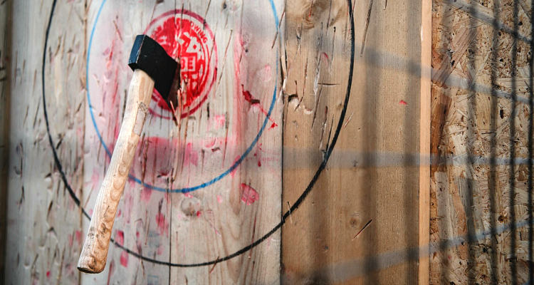 TRIBE Urban Axe Throwing