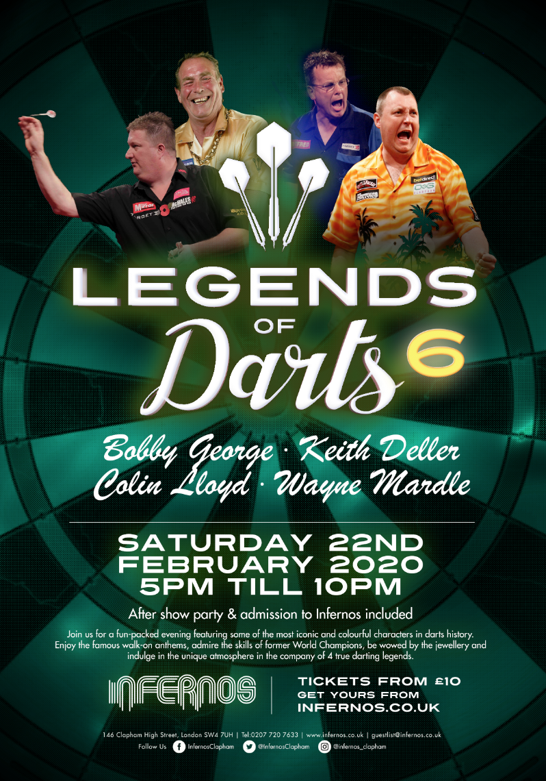 Legends of Darts 6
