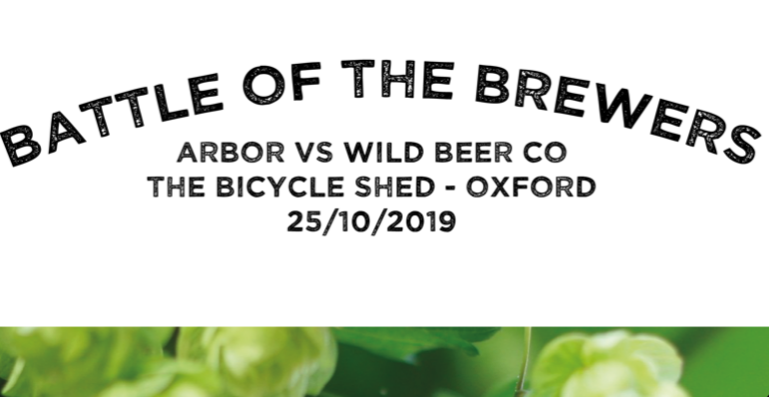 Battle of the Brewers - ARBOR vs  THE WILD BEER CO
