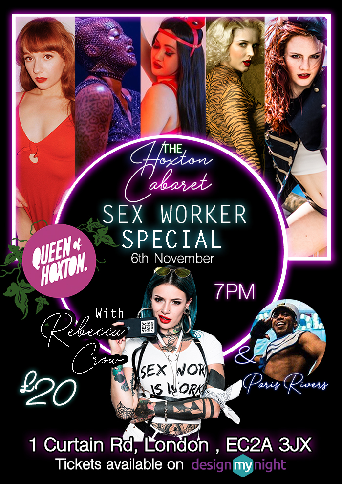 The Hoxton Cabaret- Sex Workers Halloween Special