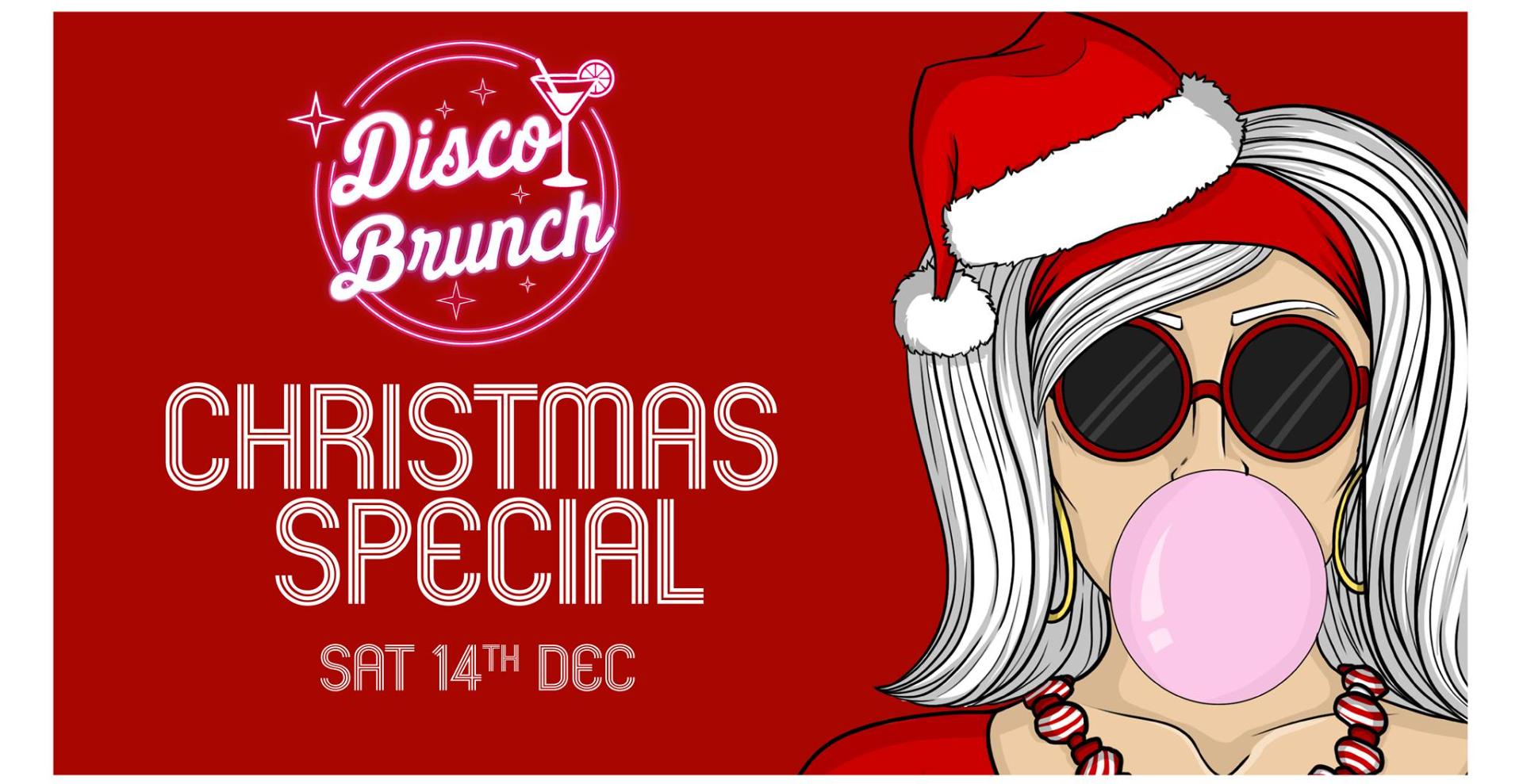 Disco Brunch 14th December - CHRISTMAS SPECIAL