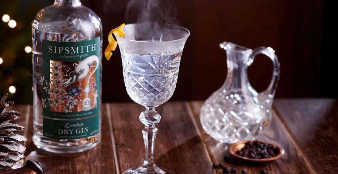 Victorian Hot Gin Masterglass with Sipsmith Gin