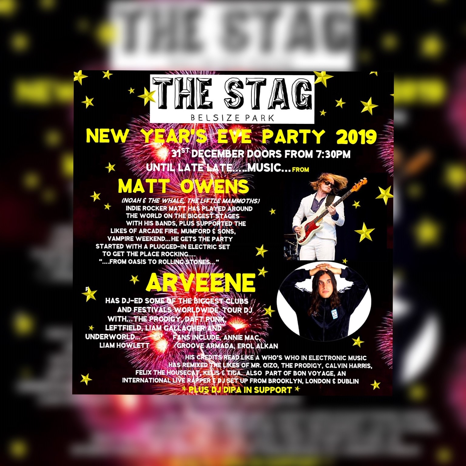 The Stag's New Year's Eve Party 2019