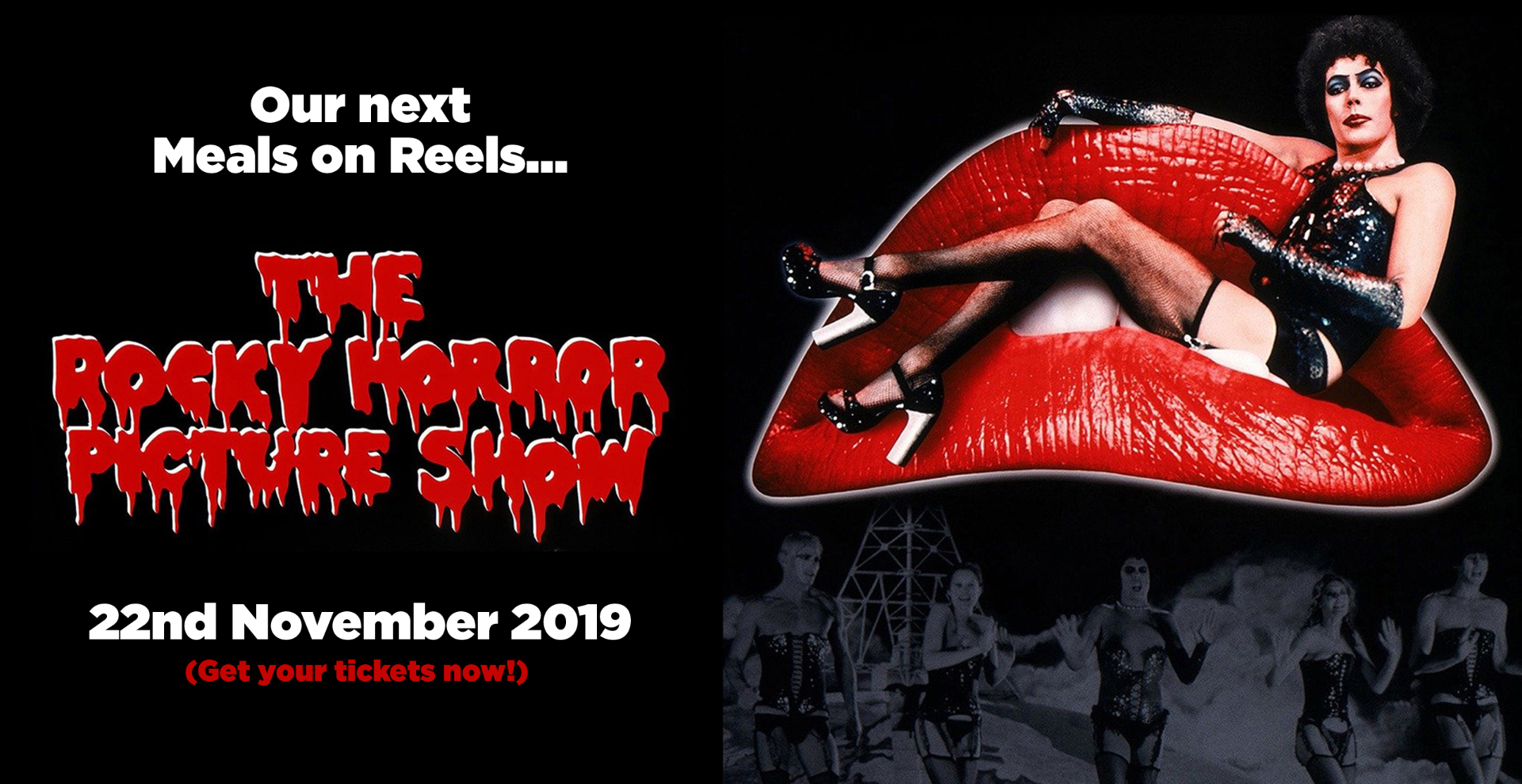 Meals on Reels // The Rocky Horror Picture Show