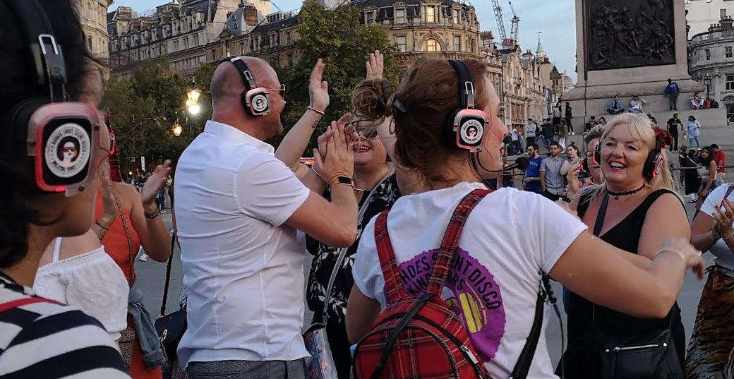 Silent Disco Tour (Private Bookings) with Boogie