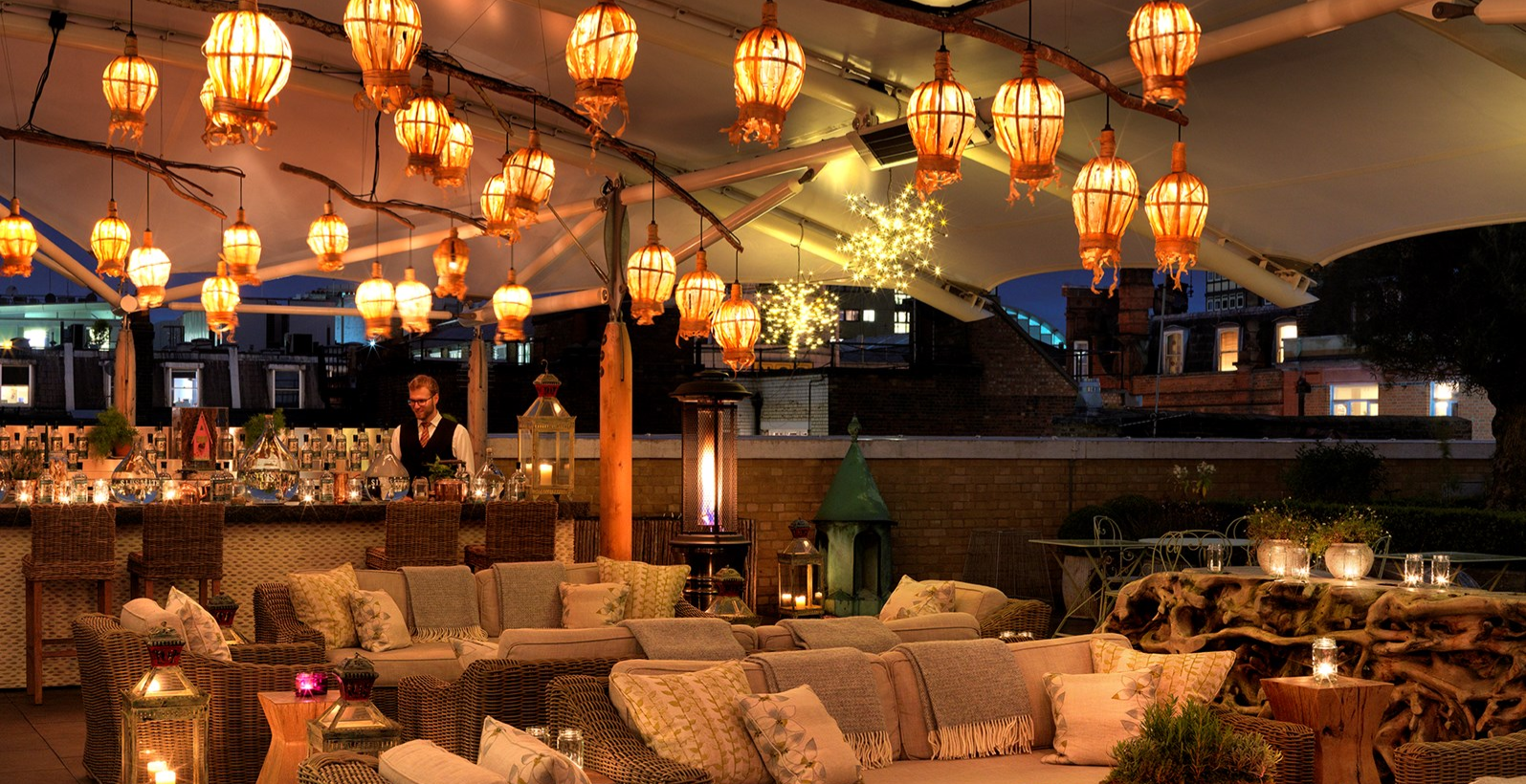 HAM YARD HOTEL - NEW YEAR'S EVE ON THE ROOF TERRACE