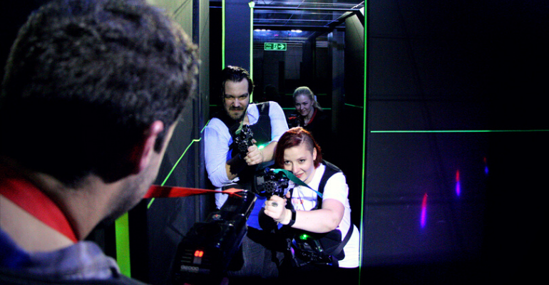 Laser Tag Nights: May The Force Be With You