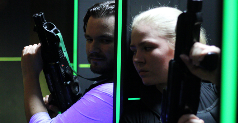 Laser Tag Nights: The Wild, Wild West