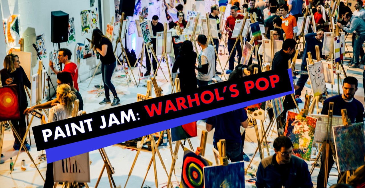 Paint Jam: Warhol's Pop - Zoom paint party