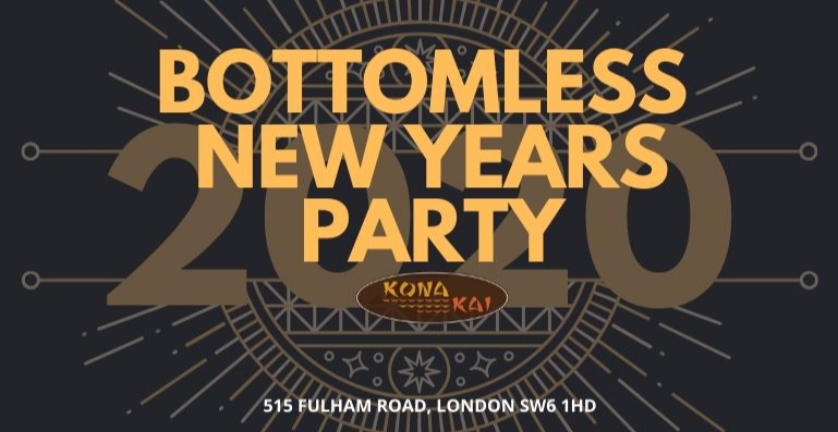BOTTOMLESS NYE PARTY