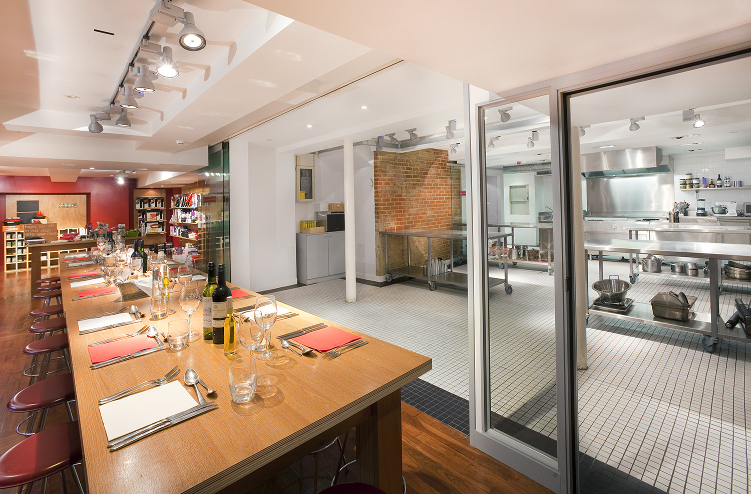 L'atelier des chefs Cookery School Oxford Circus