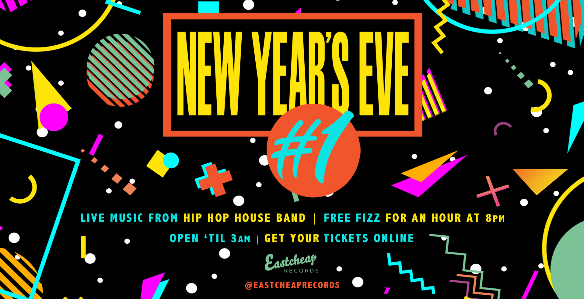 New Year's Eve #1 feat. Hip Hop House Band