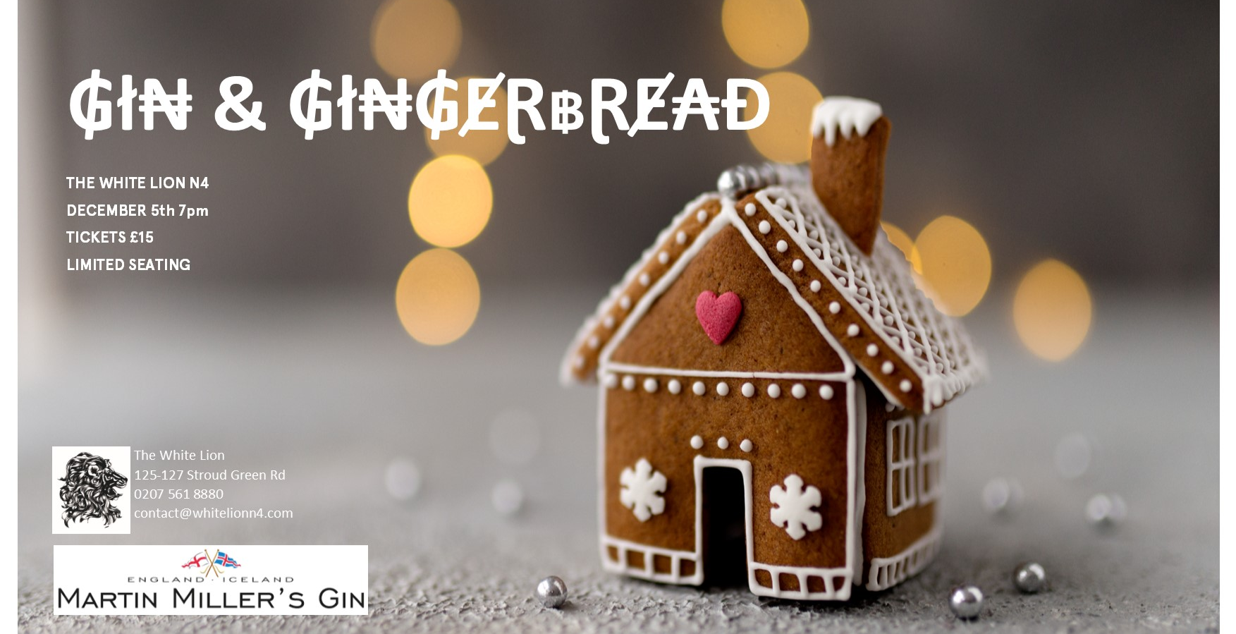Gin & Gingerbread!