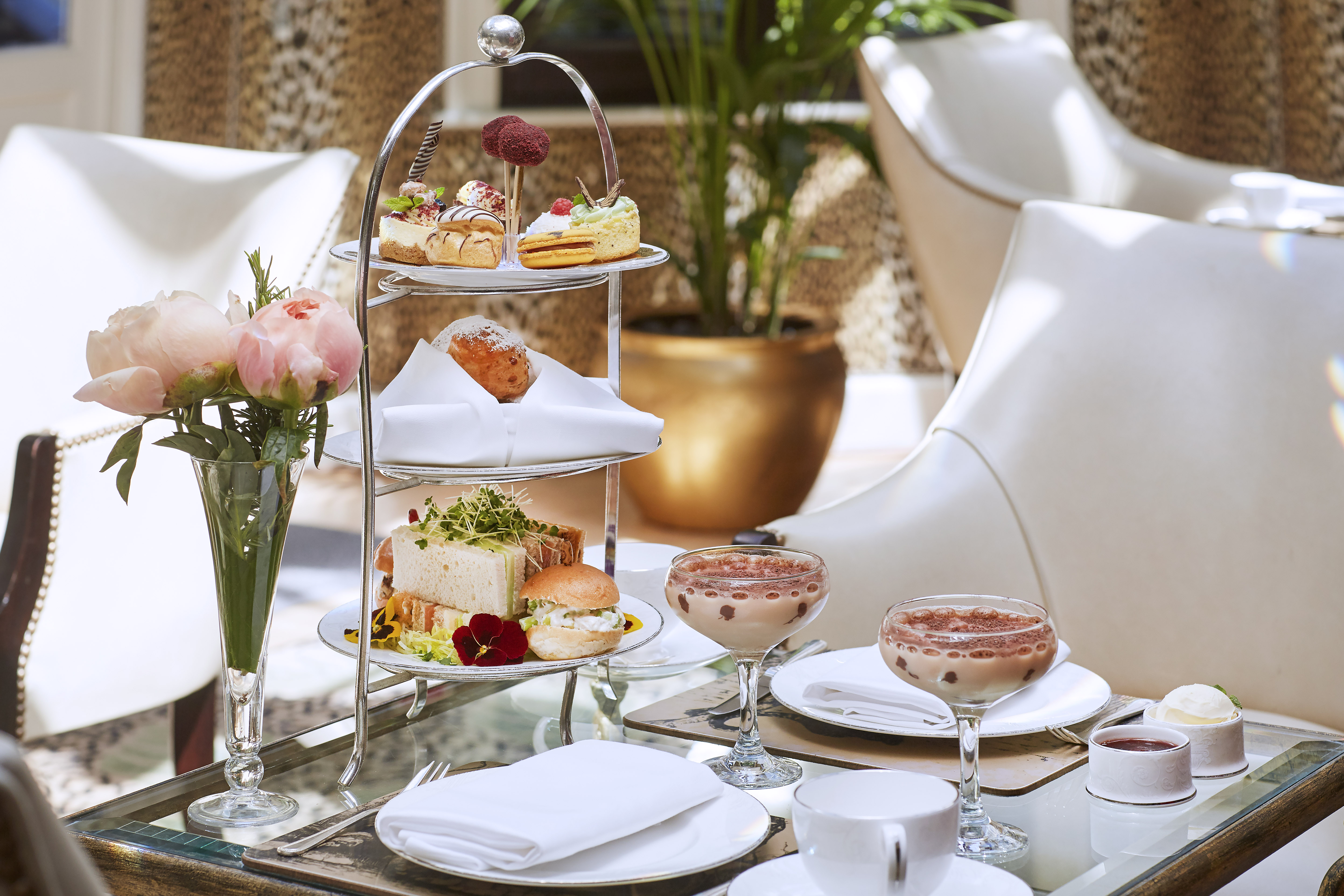 Afternoon Tea at the Montague on the Gardens Hotel