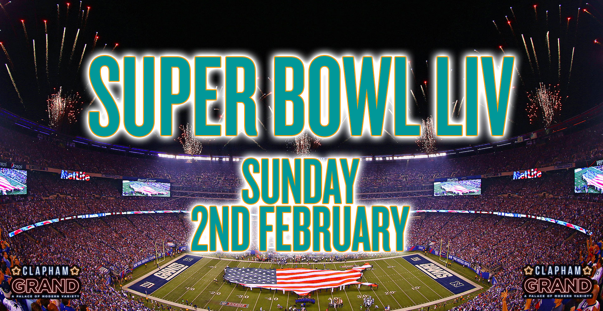 Super Bowl LIV Screening at The Clapham Grand