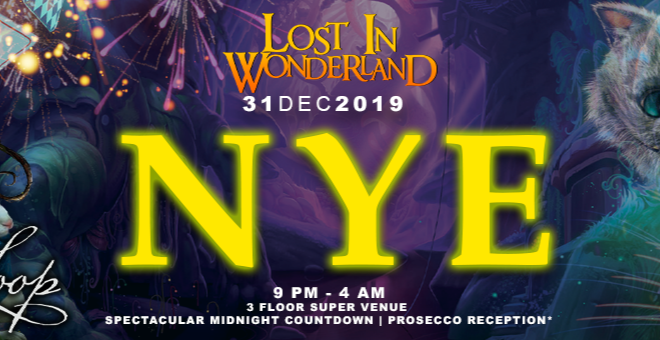 Lost in Wonderland NYE: London