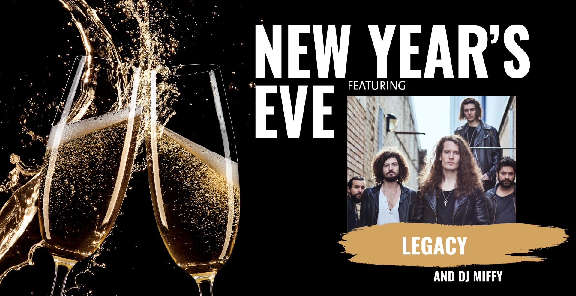 New Years Eve with Live Music
