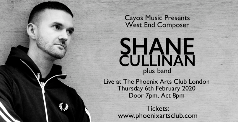 West End Composer Shane Cullinan Plus Band