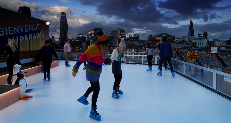 Bar Elba | Rooftop Ice Rink | DesignMyNight