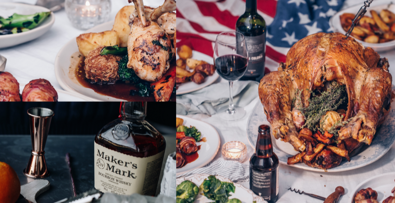 Thanksgiving Special with complimentary Makers Mark