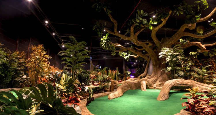 Treetop Golf | Manchester Crazy Golf Course | DesignMyNight