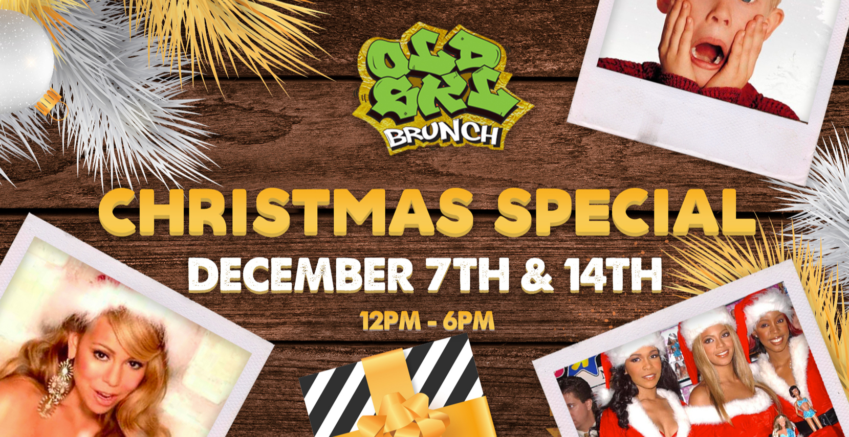 Xmas Special : Old Skl Brunch w/ Bottomless Rum Punch & Prosecco