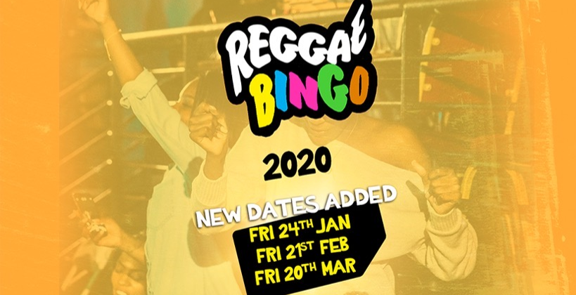 Reggae BINGO London - Fri 24th Jan