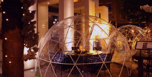 Pop-Up Dome Dining Experience for 2 guests