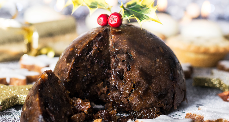 Boulevard Theatre Pudding | Christmas Cooking Classes | DesignMyNight