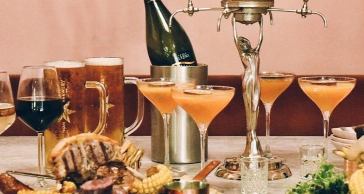 Scarlett Green Soho Bottomless Dinner | London Restaurant News | DesignMyNight