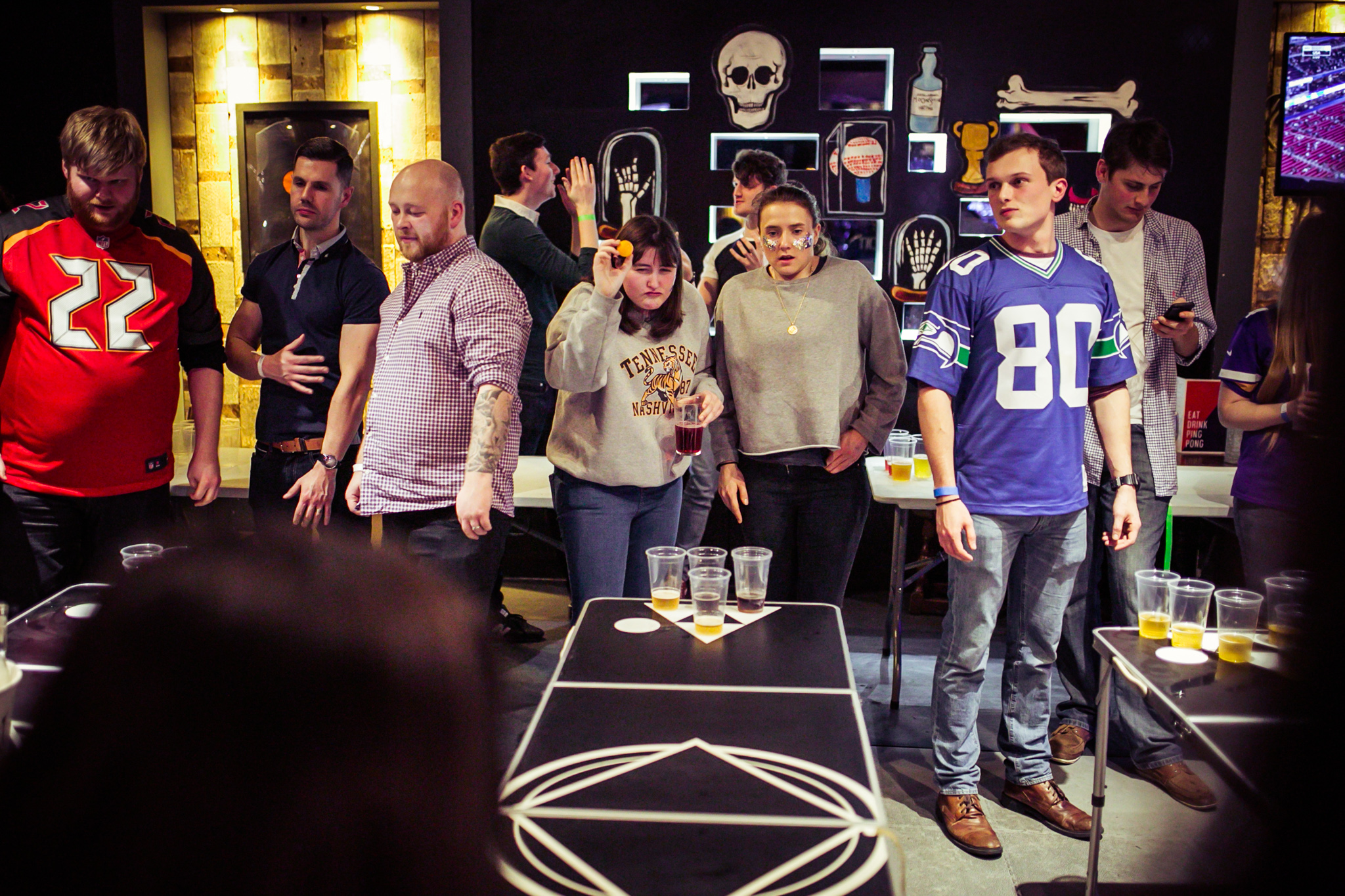 BREWDOG PRESENTS: SUPER BOWL SUNDAY AT THE BAT & BALL