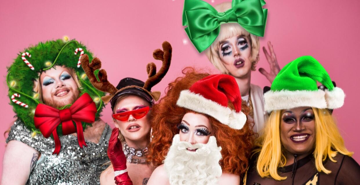 Christmas Kiki with Drag Queens