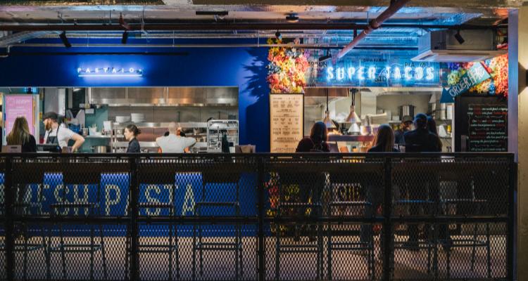 Market Halls West End | London Restaurant Reviews | DesignMyNight