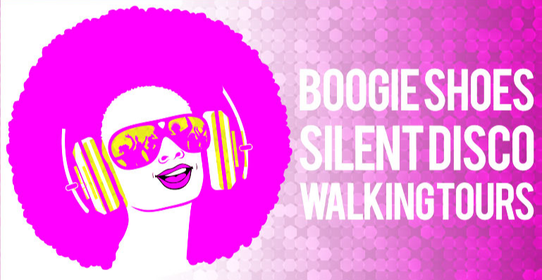 Christmas Cracker Boogie Shoes Silent disco walking party 2021