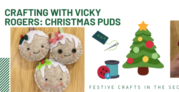Festive family crafting with Vicky Rogers
