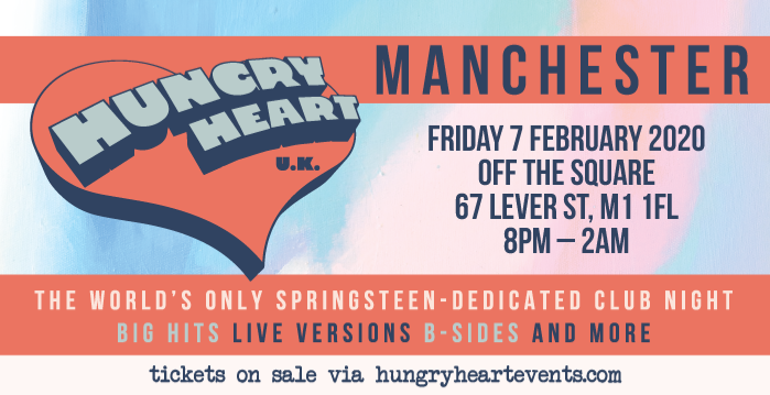 Hungry Heart - Manchester