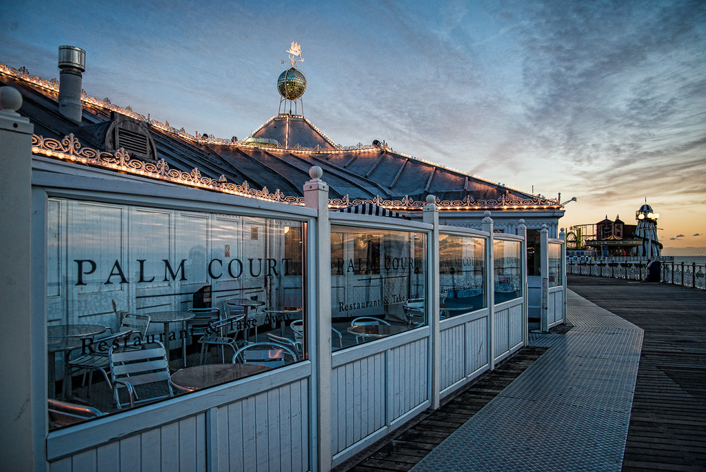 Palm Court Restaurant at Brighton Palace Pier